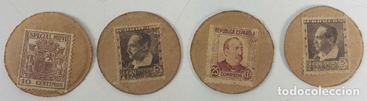 Lotes de Billetes: COLECCIÓN DE 9 BILLETES Y 4 SELLOS. ESPAÑA. 1937/1939. - Foto 9 - 123571219