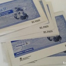 Lotes de Billetes: EL PAPEL DE LA PESETA II - EL PAIS - LOTE DE ENTREGAS. Lote 125211203