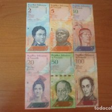 Lotes de Billetes: LOTE DE BILLETES DE VENEZUELA DE 2,5,10,20,50 Y 100 BOLÍVARES. SC-UNC. Lote 129610319