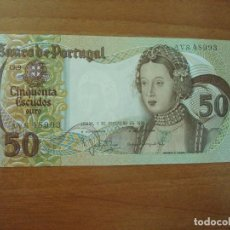 Lotes de Billetes: BILLETE DE PORTUGAL. 50 ESCUDOS. 1-2-1980. SC. Lote 129617059