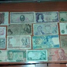 Lotes de Billetes: LOTE DE 17 BILLETES DIFERENTES, AÑOS 70.. Lote 132034671