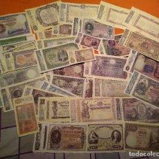 Lotes de Billetes: LOTE 36 BILLETES ESPAÑOLES FACSIMIL EMITIDOS POR LA FABRICA NACIONAL DE MONEDA Y TIMBRE (FNMT). Lote 132433246