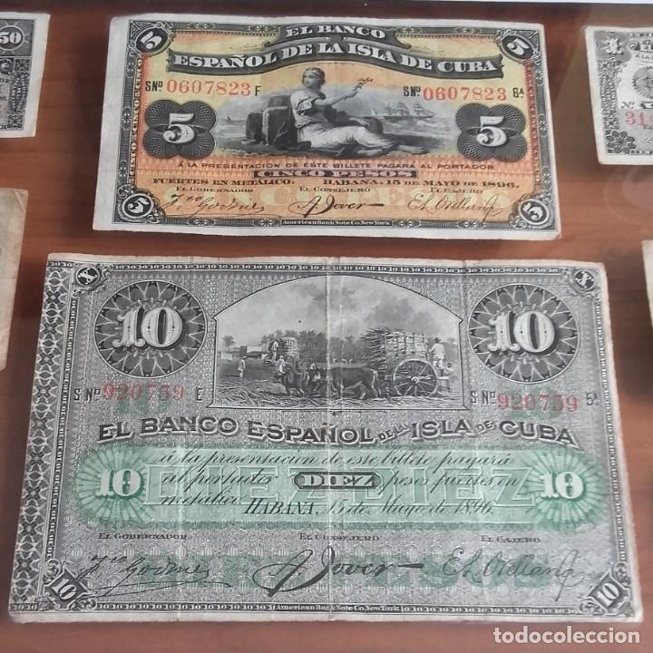 Lotes de Billetes: LOTE BILLETES. BANCO ESPAÑOL DE LA ISLA DE CUBA AÑOS 1896-1897 Y DE LA REPÚBLICA ESPAÑOLA AÑO 1937. - Foto 3 - 134946242