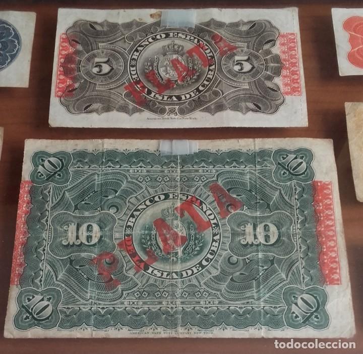 Lotes de Billetes: LOTE BILLETES. BANCO ESPAÑOL DE LA ISLA DE CUBA AÑOS 1896-1897 Y DE LA REPÚBLICA ESPAÑOLA AÑO 1937. - Foto 4 - 134946242
