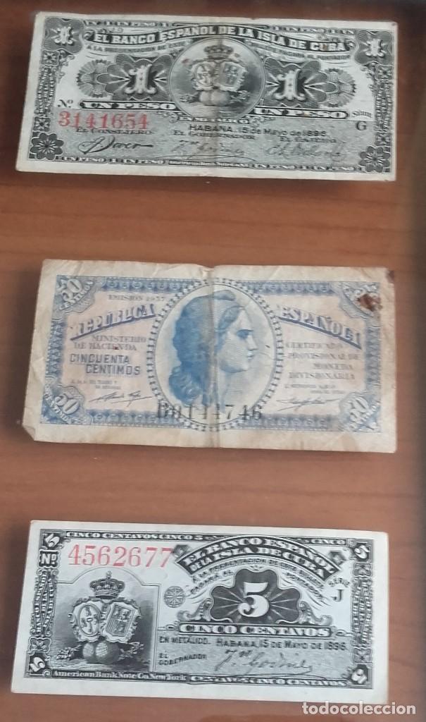 Lotes de Billetes: LOTE BILLETES. BANCO ESPAÑOL DE LA ISLA DE CUBA AÑOS 1896-1897 Y DE LA REPÚBLICA ESPAÑOLA AÑO 1937. - Foto 7 - 134946242