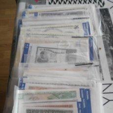 Lotes de Billetes: EL DIARIO MONTAÑES - FACSIMIL - MONEDAS Y BILLETES. Lote 137328686
