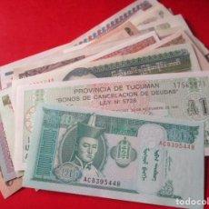 Lotes de Billetes: LOTE DE 30 BILLETES EXTRANJEROS DIFERENTES SIN CIRCULAR. Lote 147623846