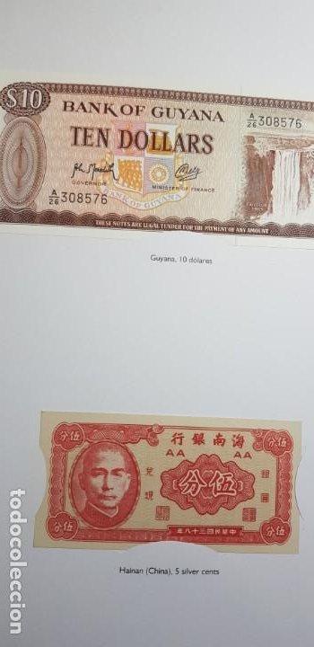 Lotes de Billetes: 52 BILLETES ORIGINALES PLANCHA-COLECCIÓN COMPLETA -AFINSA-EL MUNDO BILLETES DEL MUNDO. - Foto 9 - 153867426