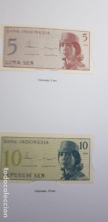 Lotes de Billetes: 52 BILLETES ORIGINALES PLANCHA-COLECCIÓN COMPLETA -AFINSA-EL MUNDO BILLETES DEL MUNDO. - Foto 10 - 153867426