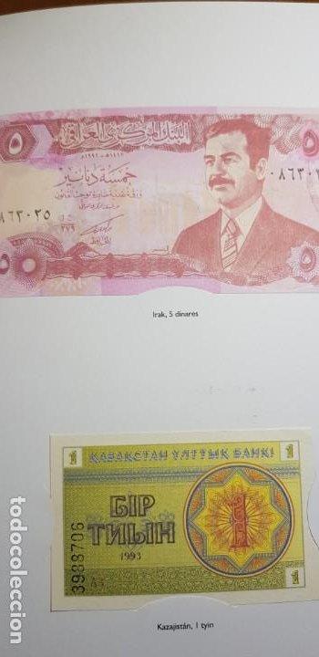 Lotes de Billetes: 52 BILLETES ORIGINALES PLANCHA-COLECCIÓN COMPLETA -AFINSA-EL MUNDO BILLETES DEL MUNDO. - Foto 11 - 153867426