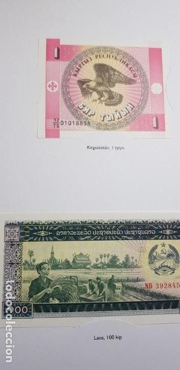 Lotes de Billetes: 52 BILLETES ORIGINALES PLANCHA-COLECCIÓN COMPLETA -AFINSA-EL MUNDO BILLETES DEL MUNDO. - Foto 12 - 153867426