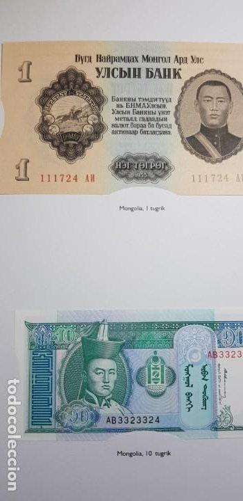Lotes de Billetes: 52 BILLETES ORIGINALES PLANCHA-COLECCIÓN COMPLETA -AFINSA-EL MUNDO BILLETES DEL MUNDO. - Foto 13 - 153867426