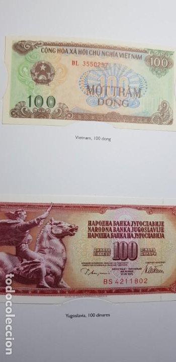 Lotes de Billetes: 52 BILLETES ORIGINALES PLANCHA-COLECCIÓN COMPLETA -AFINSA-EL MUNDO BILLETES DEL MUNDO. - Foto 20 - 153867426