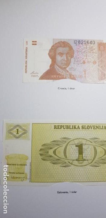 Lotes de Billetes: 52 BILLETES ORIGINALES PLANCHA-COLECCIÓN COMPLETA -AFINSA-EL MUNDO BILLETES DEL MUNDO. - Foto 22 - 153867426