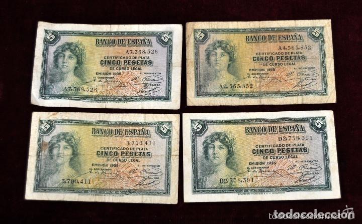 Lotes de Billetes: LOTE DE 38 BILLETES ESPAÑOLES DE DISTINTOS VALORES - Foto 8 - 130469816