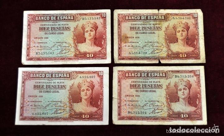 Lotes de Billetes: LOTE DE 38 BILLETES ESPAÑOLES DE DISTINTOS VALORES - Foto 11 - 130469816