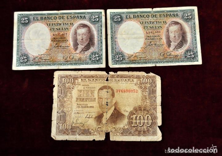 Lotes de Billetes: LOTE DE 38 BILLETES ESPAÑOLES DE DISTINTOS VALORES - Foto 13 - 130469816