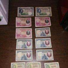 Lotes de Billetes: LOTE DE 16 BILLETES ESPAÑOLES - CIRCULADOS - PRECIO PARA REVENDEDORES. Lote 161877726