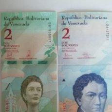 Lotes de Billetes: LOTE DE 2 BILLETES SIN CIRCULAR. Lote 168345384