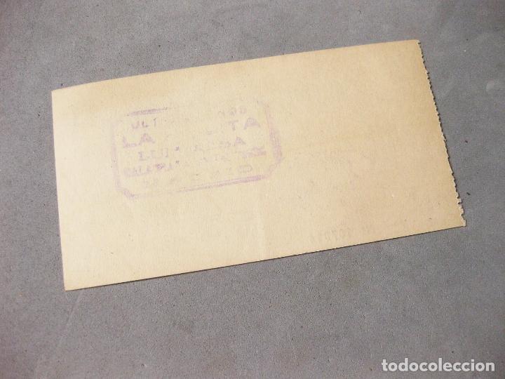 Lotes de Billetes: PAPEL CHEQUE HOGAR AMERICANO. CANJEARÁ AL PORTADOR SU EQUIVALENCIA EN ARTÍCULOS DEL HOGAR. 1954. - Foto 2 - 166982780