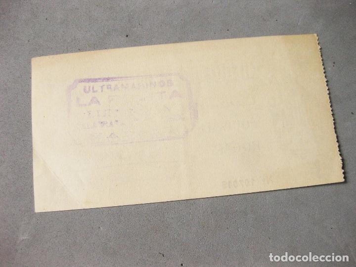 Lotes de Billetes: PAPEL CHEQUE HOGAR AMERICANO. CANJEARÁ AL PORTADOR SU EQUIVALENCIA EN ARTÍCULOS DEL HOGAR. 1954. - Foto 2 - 168679572