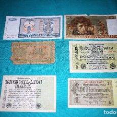 Lotes de Billetes: LOTE 6 BILLETES ANTIGUOS CIRCULADOS- LOTE 510. Lote 168759304