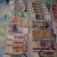 Lotes de Billetes: LOTE DE 29 BILLETES EXTRANJEROS, A CLASIFICAR,DIFERENTES PAÍSES,AÑOS Y VALORES. INVERSIÓN.. Lote 172109230