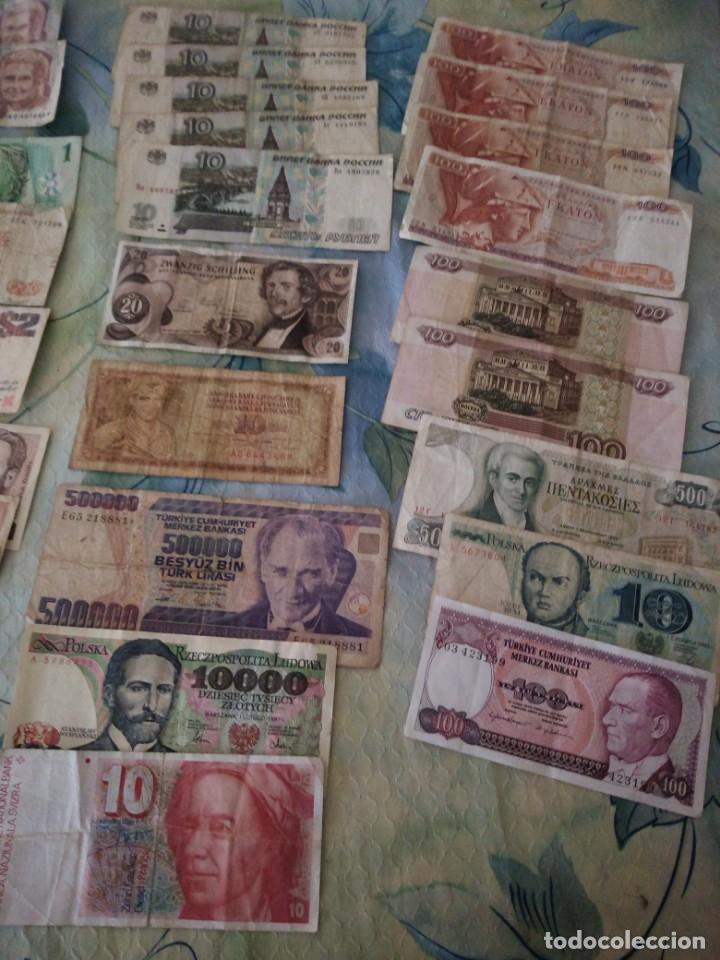 Lotes de Billetes: Lote de 29 billetes extranjeros, a clasificar,diferentes países,años y valores. inversión. - Foto 2 - 172109230