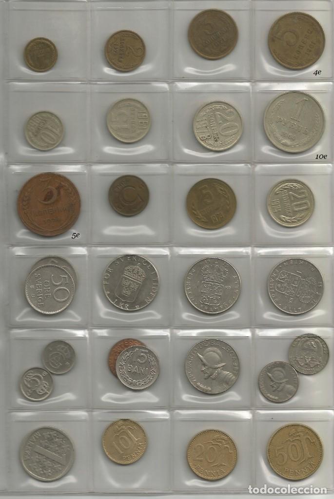 Lotes de Billetes: lote de 28 monedas de Europa y América - Foto 2 - 176588380