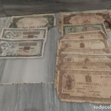 Lotes de Billetes: LOTE 11 BILLETES ANTIGUOS DE RUMANIA - 1940 - 10.000 LEI - 1000 LEI. Lote 178962595