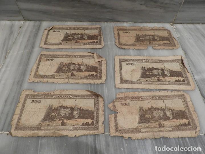 Lotes de Billetes: LOTE 11 BILLETES ANTIGUOS DE RUMANIA - 1940 - 10.000 LEI - 1000 LEI - Foto 3 - 178962595