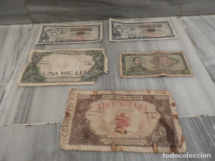 Lotes de Billetes: LOTE 11 BILLETES ANTIGUOS DE RUMANIA - 1940 - 10.000 LEI - 1000 LEI - Foto 4 - 178962595
