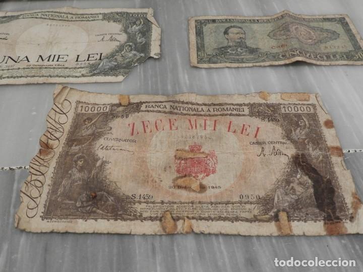 Lotes de Billetes: LOTE 11 BILLETES ANTIGUOS DE RUMANIA - 1940 - 10.000 LEI - 1000 LEI - Foto 5 - 178962595