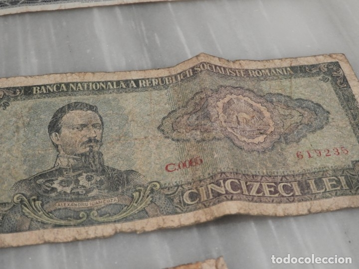Lotes de Billetes: LOTE 11 BILLETES ANTIGUOS DE RUMANIA - 1940 - 10.000 LEI - 1000 LEI - Foto 9 - 178962595