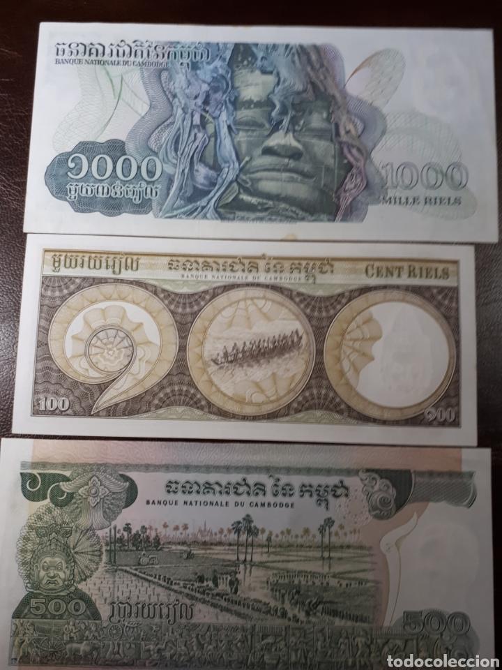 Lotes de Billetes: 3 BILLETES DE CAMBOYA EN PLANCHA NUEVOS LOT. I9 - Foto 2 - 180174753