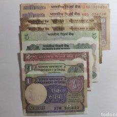 Lotes de Billetes: LOTE DE BILLETES INDIA. Lote 181809150
