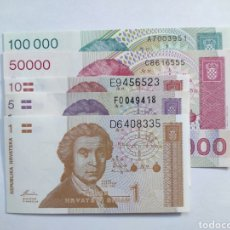 Lotes de Billetes: LOTE DE BILLETES CROACIA. Lote 181852693