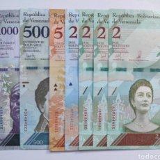 Lotes de Billetes: LOTE DE BILLETES VENEZUELA. Lote 181854885