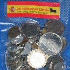 Lotes de Billetes: ESPAÑA, 100 MONEDAS DESDE EL ESTADO ESPAÑOL HASTA EL 2001. CIRCULADAS.. Lote 182704962