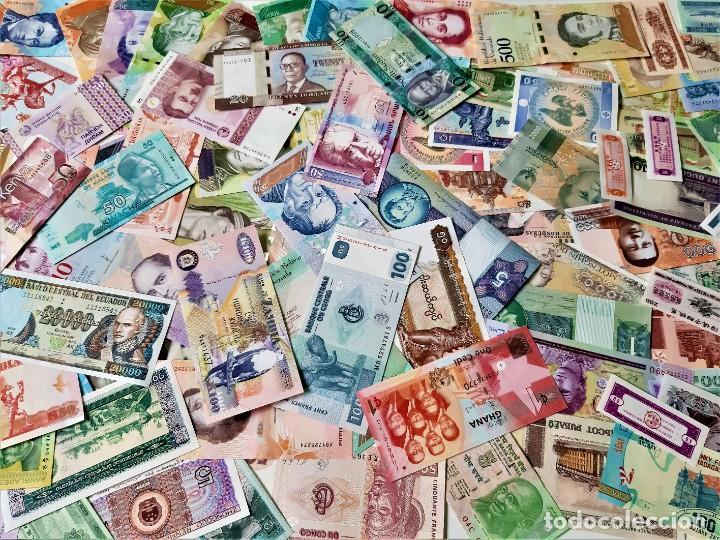 Lotes de Billetes: GRAN LOTE 150 BILLETES DEL MUNDO CALIDAD UNC TODOS DIFERENTES - Foto 10 - 220869740