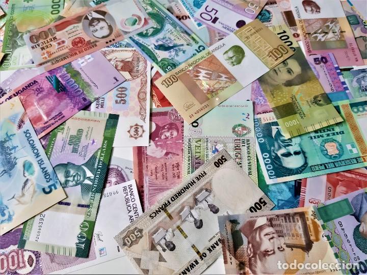 Lotes de Billetes: GRAN LOTE 150 BILLETES DEL MUNDO CALIDAD UNC TODOS DIFERENTES - Foto 2 - 220869740