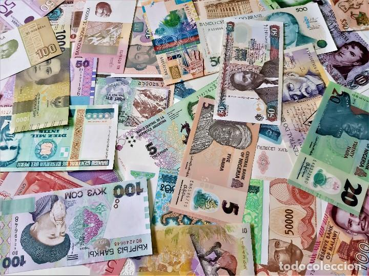 Lotes de Billetes: GRAN LOTE 150 BILLETES DEL MUNDO CALIDAD UNC TODOS DIFERENTES - Foto 3 - 220869740
