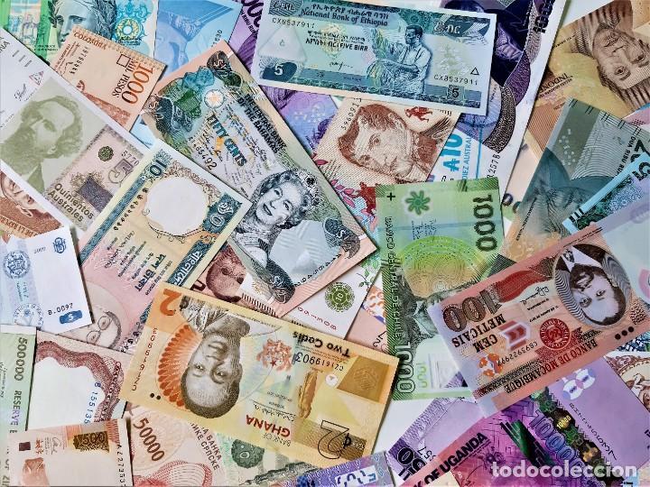 Lotes de Billetes: GRAN LOTE 150 BILLETES DEL MUNDO CALIDAD UNC TODOS DIFERENTES - Foto 6 - 220869740