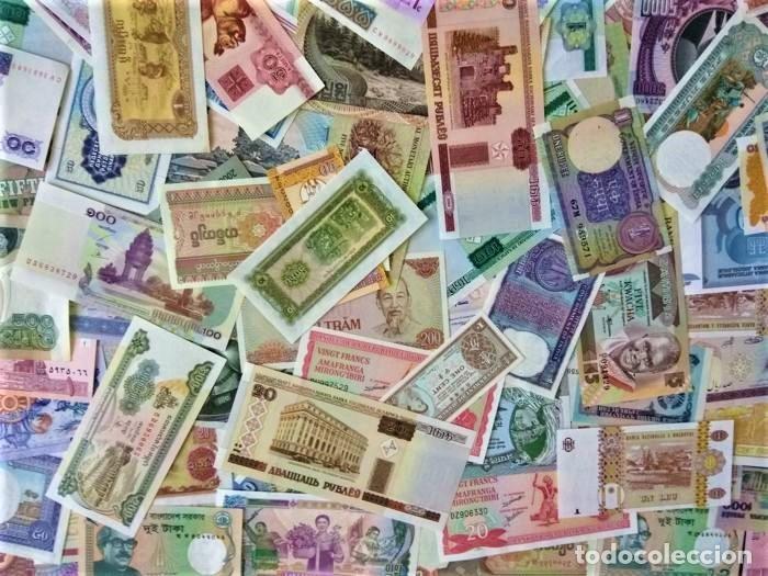Lotes de Billetes: LOTE 125 BILLETES DEL MUNDO GENUINOS Y ORIGINALES DE CALIDAD UNC TODOS DIFERENTES - Foto 15 - 233808295