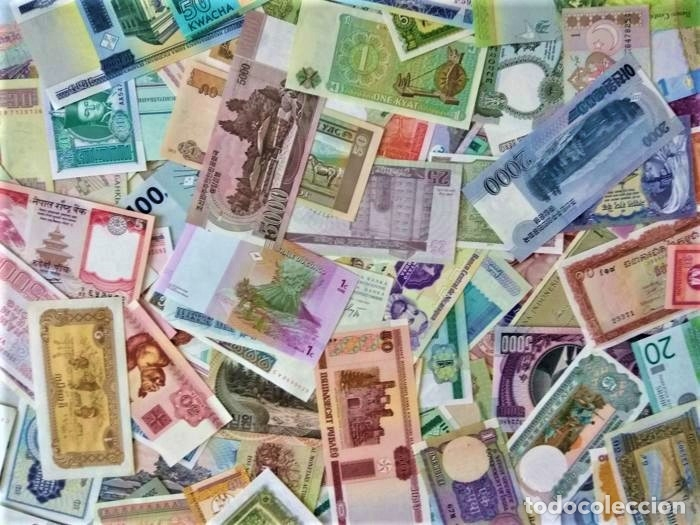 Lotes de Billetes: LOTE 125 BILLETES DEL MUNDO GENUINOS Y ORIGINALES DE CALIDAD UNC TODOS DIFERENTES - Foto 16 - 233808295