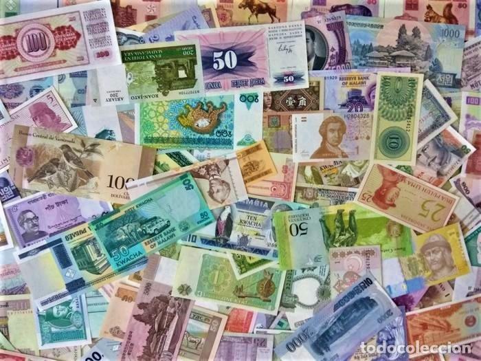 Lotes de Billetes: LOTE 125 BILLETES DEL MUNDO GENUINOS Y ORIGINALES DE CALIDAD UNC TODOS DIFERENTES - Foto 5 - 233808295