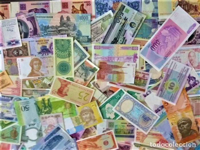 Lotes de Billetes: LOTE 125 BILLETES DEL MUNDO GENUINOS Y ORIGINALES DE CALIDAD UNC TODOS DIFERENTES - Foto 6 - 233808295