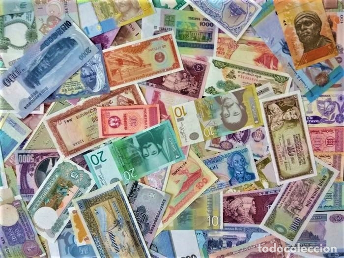 Lotes de Billetes: LOTE 125 BILLETES DEL MUNDO GENUINOS Y ORIGINALES DE CALIDAD UNC TODOS DIFERENTES - Foto 7 - 233808295