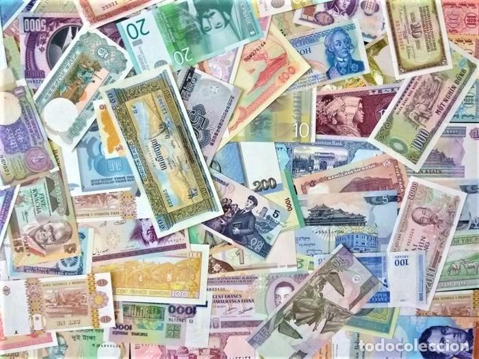 Lotes de Billetes: LOTE 125 BILLETES DEL MUNDO GENUINOS Y ORIGINALES DE CALIDAD UNC TODOS DIFERENTES - Foto 9 - 233808295