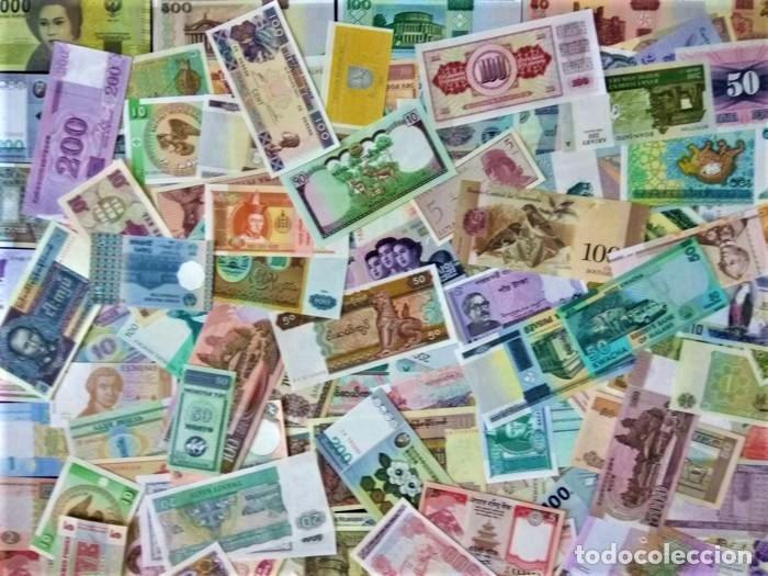Lotes de Billetes: LOTE 125 BILLETES DEL MUNDO GENUINOS Y ORIGINALES DE CALIDAD UNC TODOS DIFERENTES - Foto 12 - 233808295